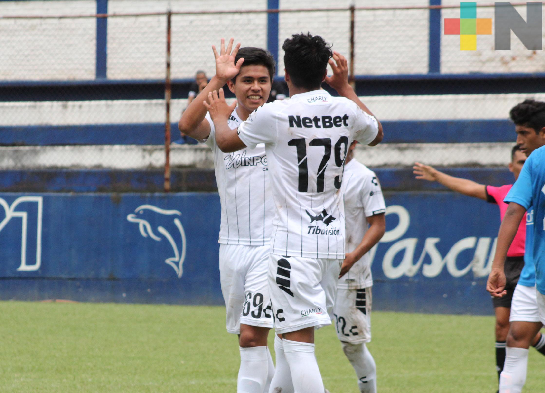 Albinegros goleó a Cafetaleros en Tercera División