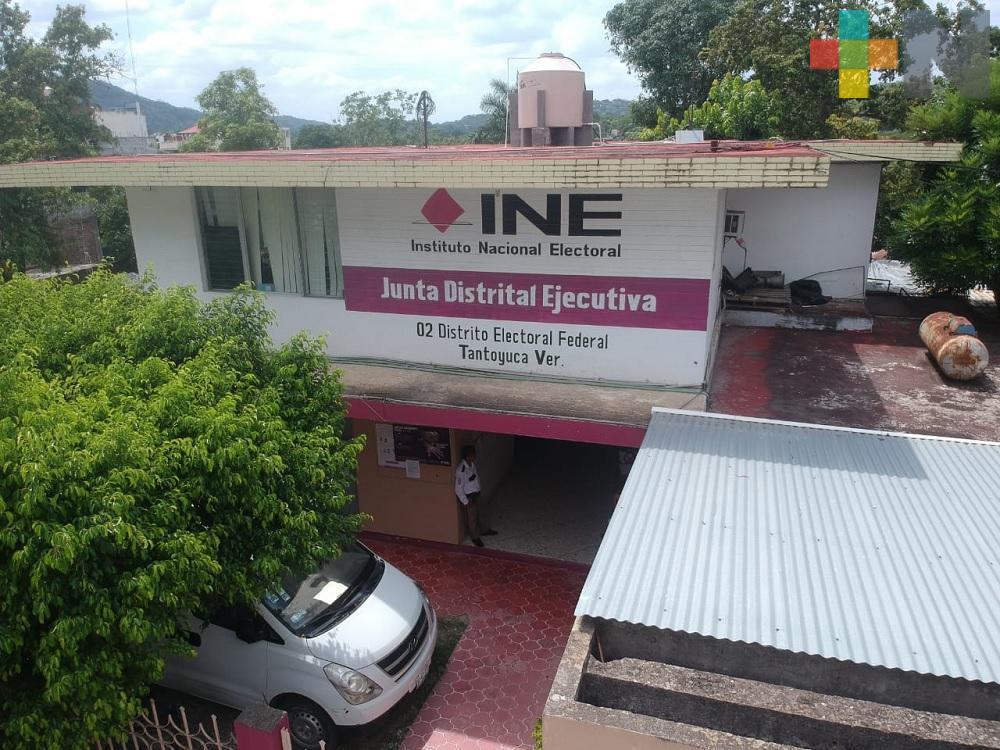 INE intensifica campaña de credencialización en el distrito de Tantoyuca