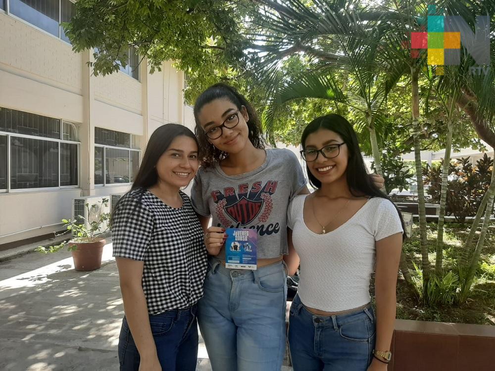 Estudiantes de la UV organizan evento «Jóvenes con causa», para participar en concurso internacional