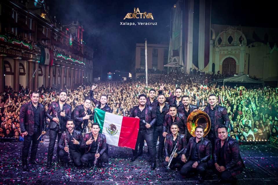 Agradece La Adictiva a seguidores de Xalapa por su apoyo