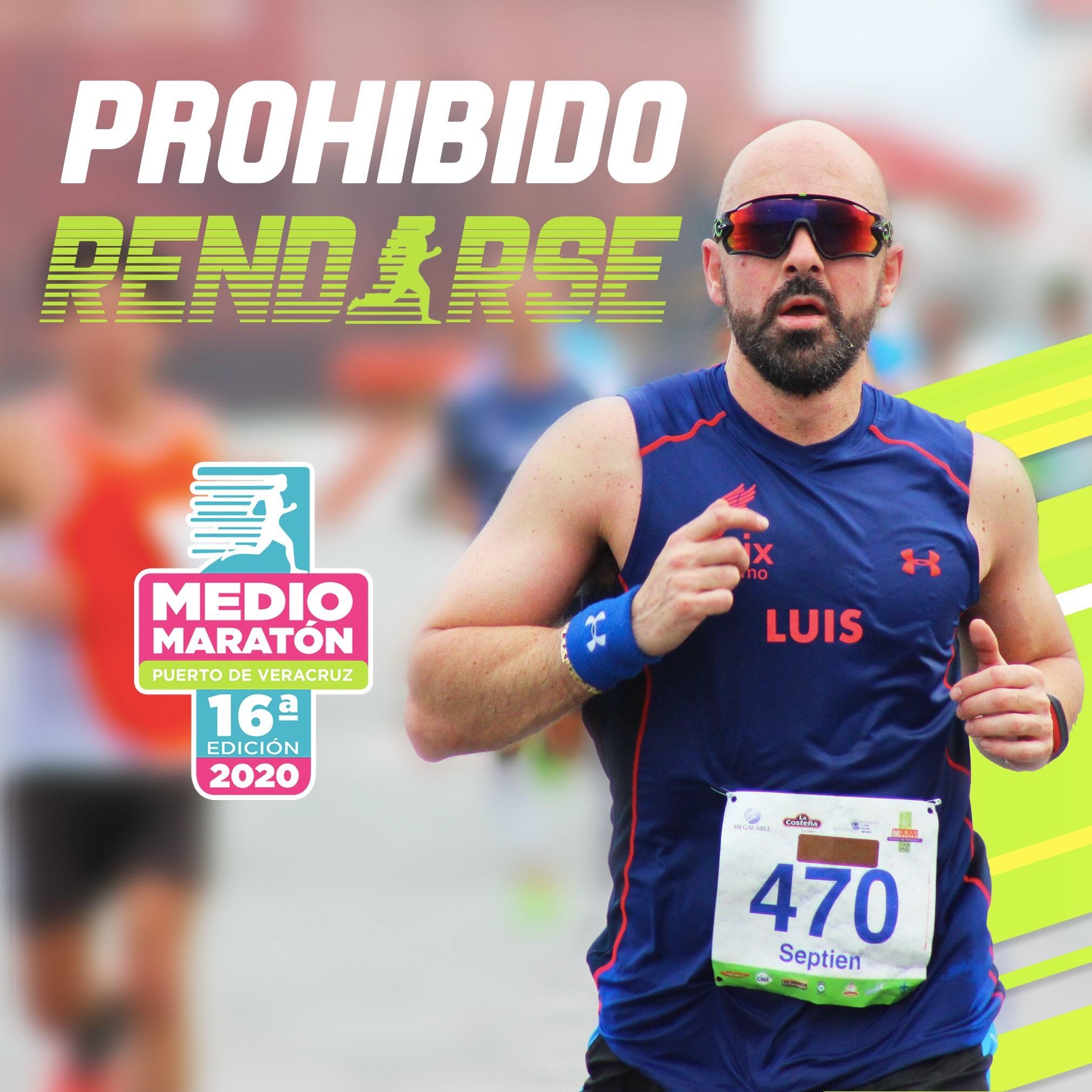 Esperan a nueve mil corredores en Medio Maratón Puerto de Veracruz 2020