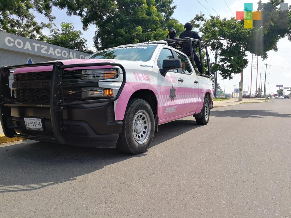 Patrulla Rosa de Coatzacoalcos atiende casos de jóvenes violentadas