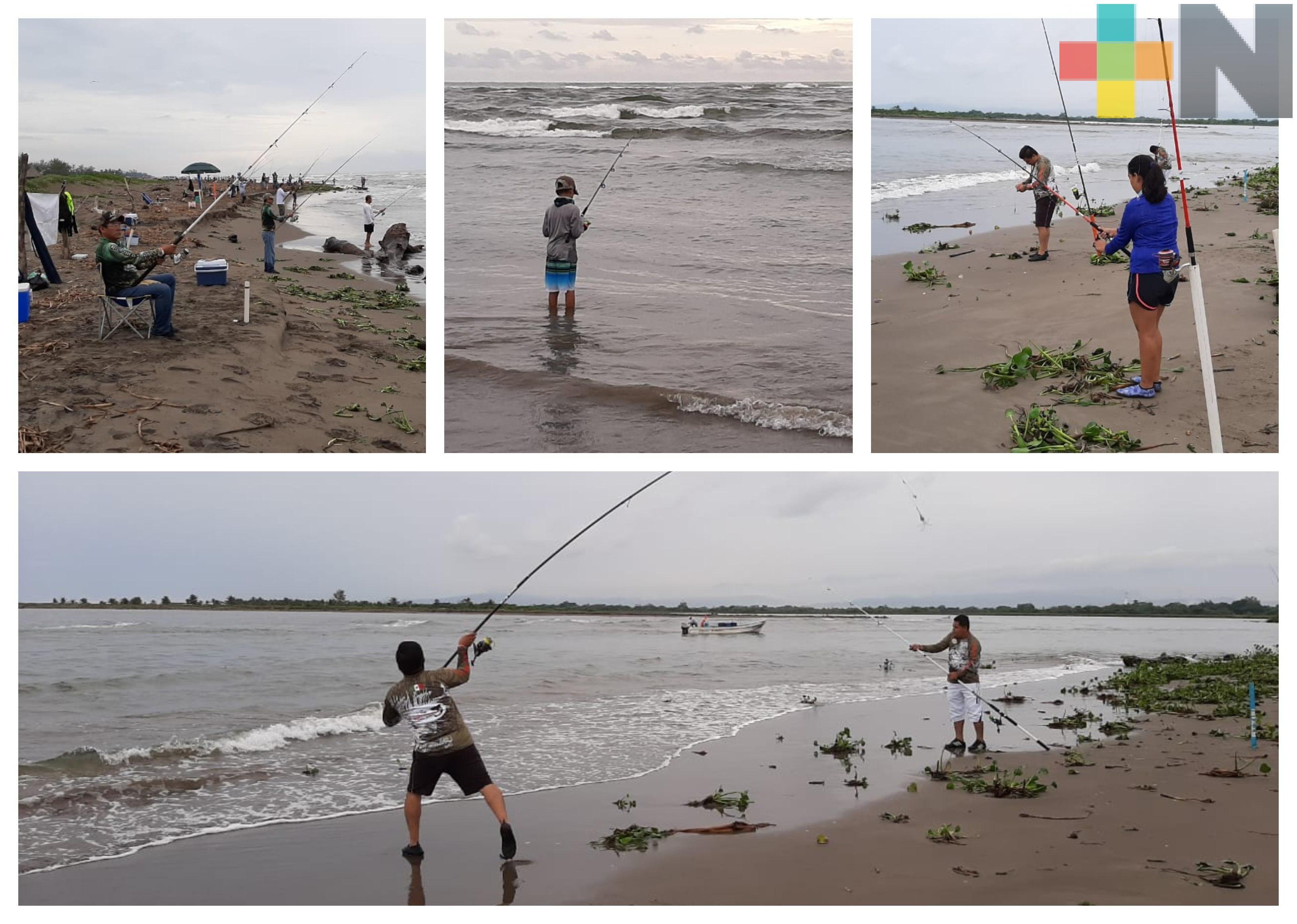 Realizaron Primer Torneo de Pesca en Casitas