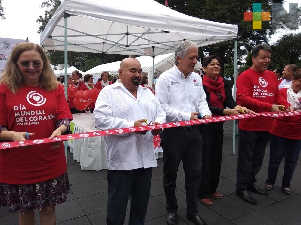 Por el Día Mundial del Corazón, se llevaron a cabo jornadas médicas en Xalapa