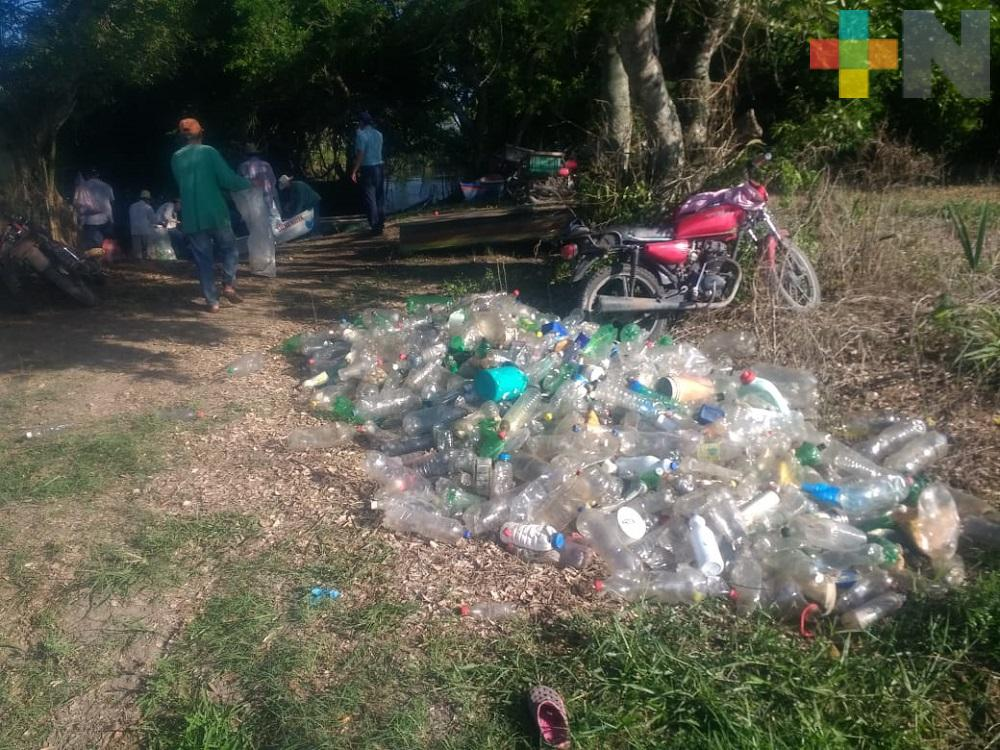 Retiradas más de 40 toneladas de basura del río Blanco: Sedema