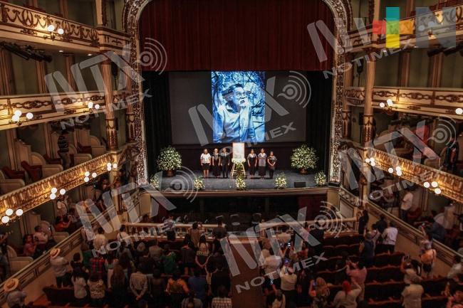 Con homenajes recuerdan a Francisco Toledo