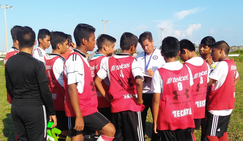 Cruz Azul seleccionó talento en el sur de Veracruz
