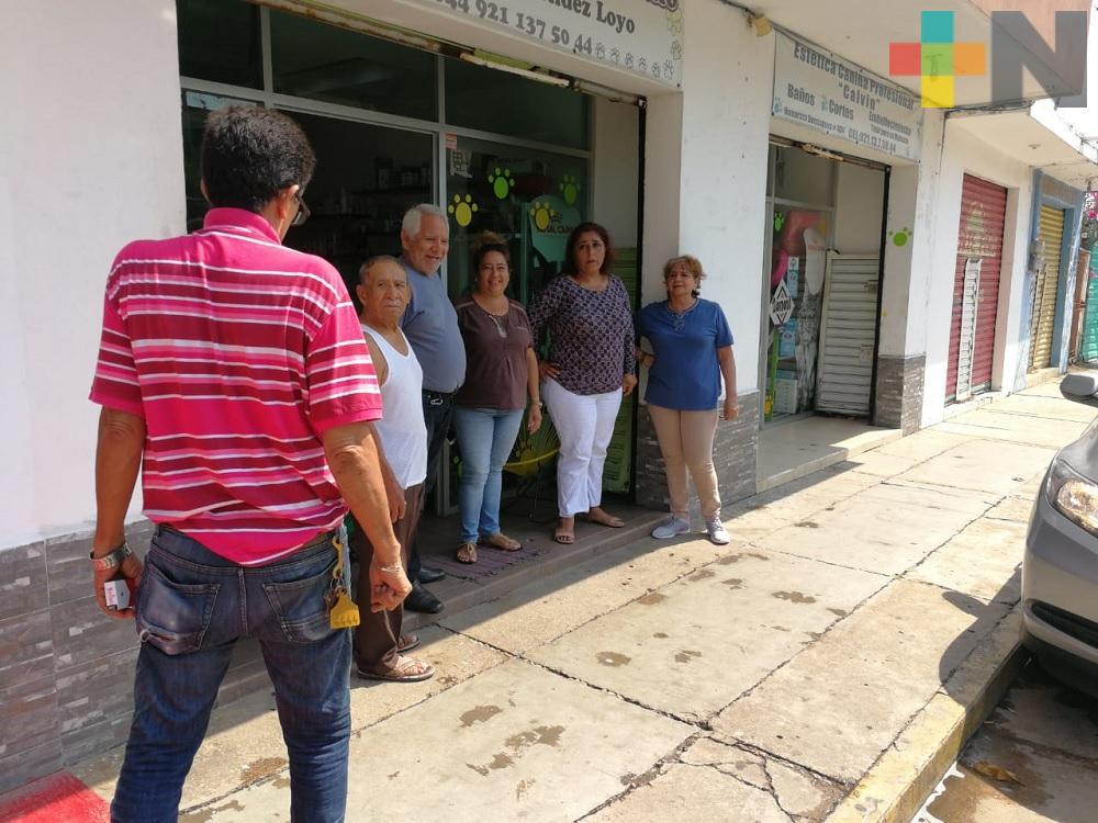 Piden vecinos no cambiar sentido de calle Honorato Domínguez, en Coatzacoalcos