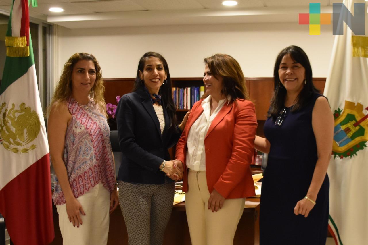Suman esfuerzos Fiscalía General de Veracruz e Instituto Nacional de las Mujeres