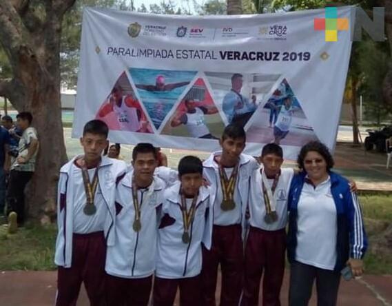 Deportistas de Coatzacoalcos competirán en Paralimpiada Nacional 2019