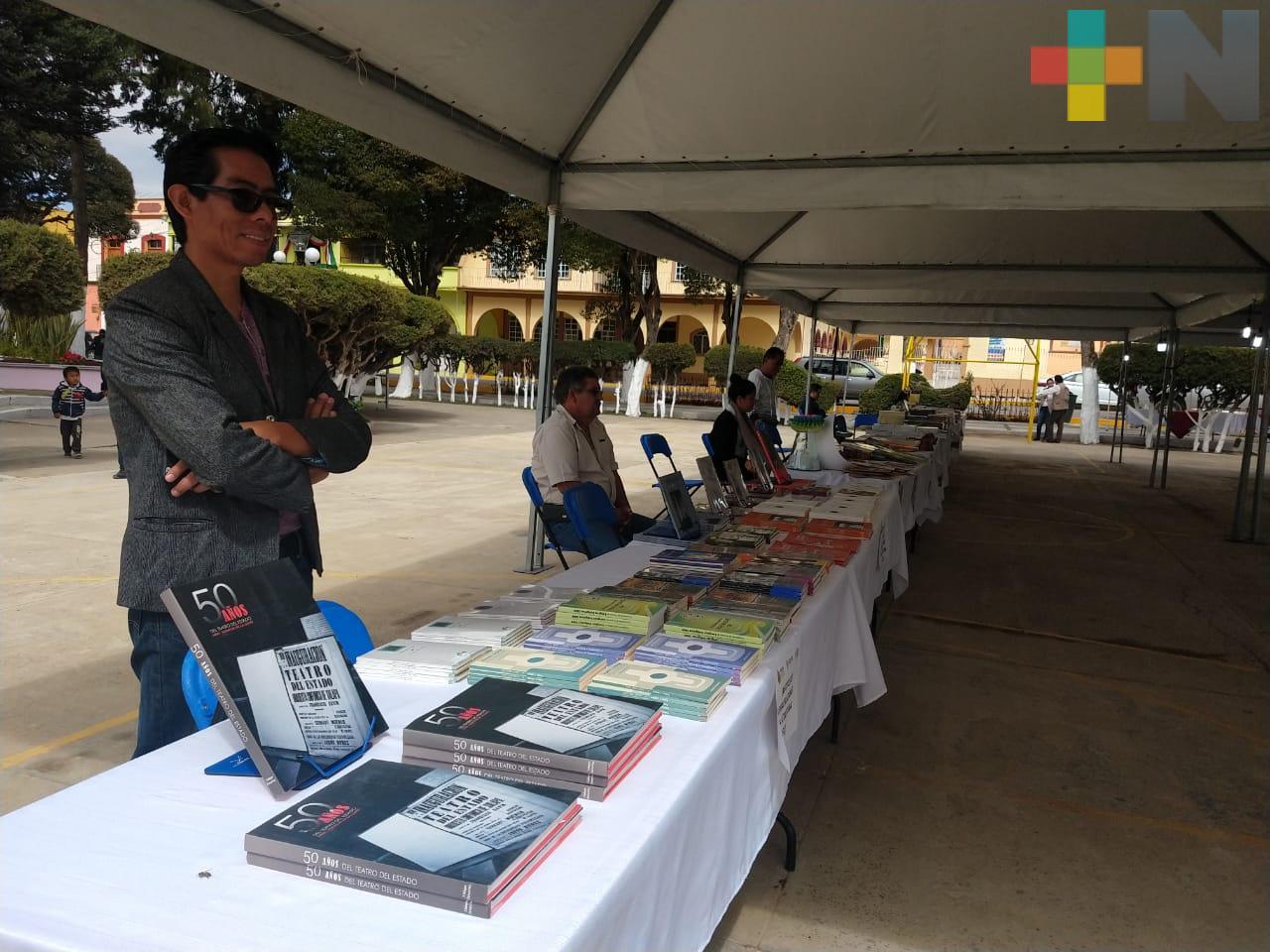Editora de Gobierno promueve lectura en veracruzanos