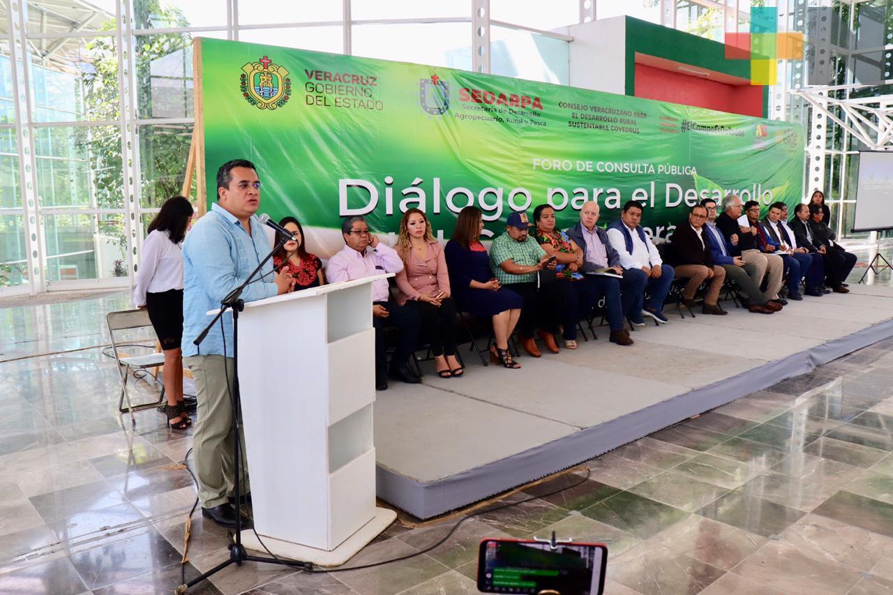 Consolidan alianza productores y Gobierno para convertir a Veracruz en potencia agroalimentaria