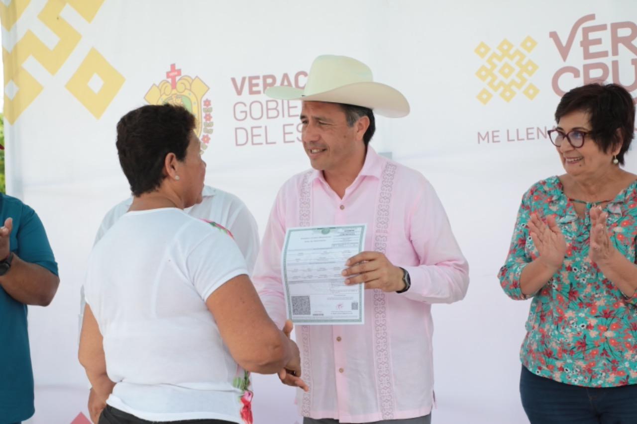 Anuncia gobernador Cuitláhuac García inauguración de Centro de Salud en Tierra Blanca