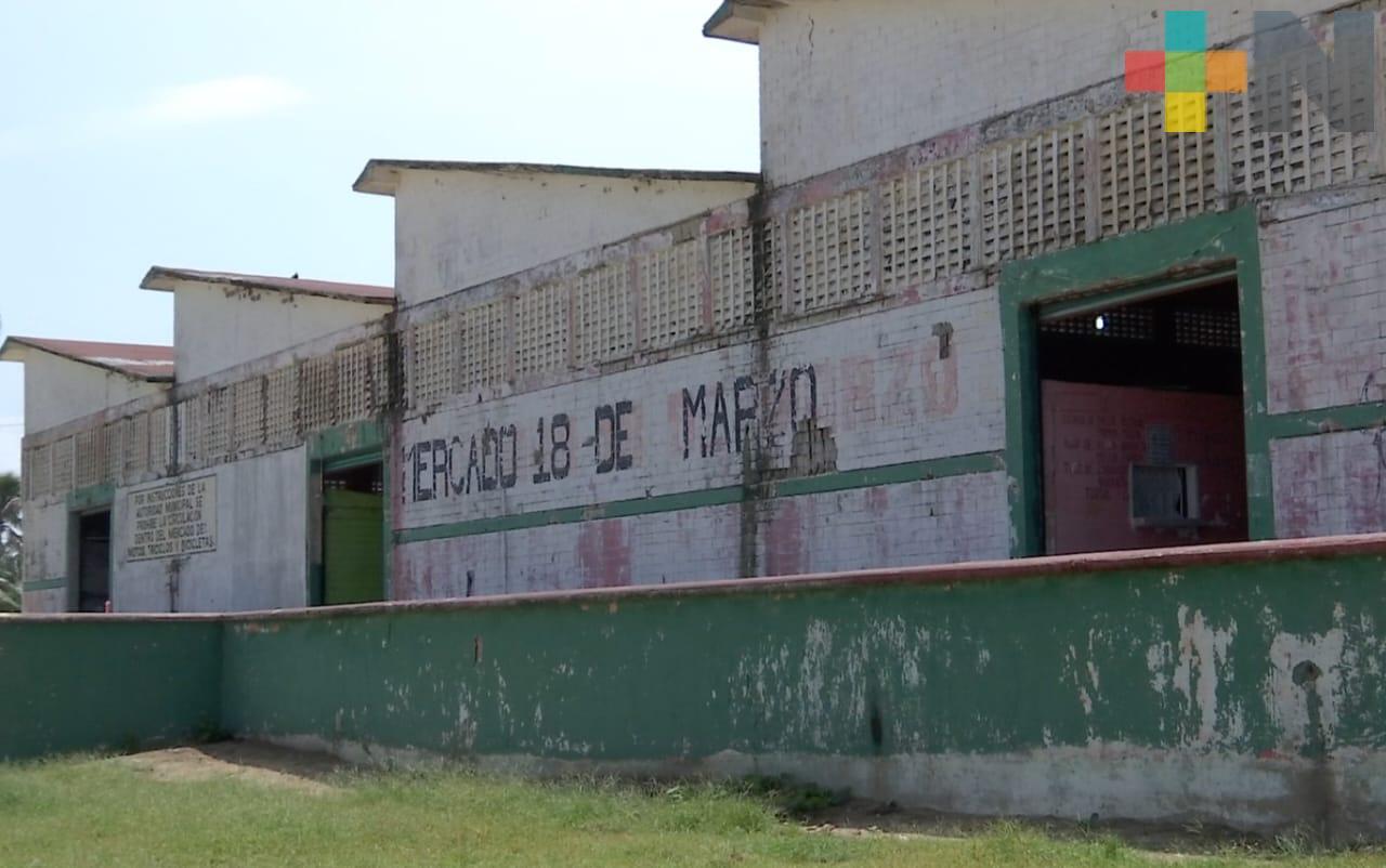 Invertirán en rehabilitación de Mercado 18 de marzo de Villa Allende