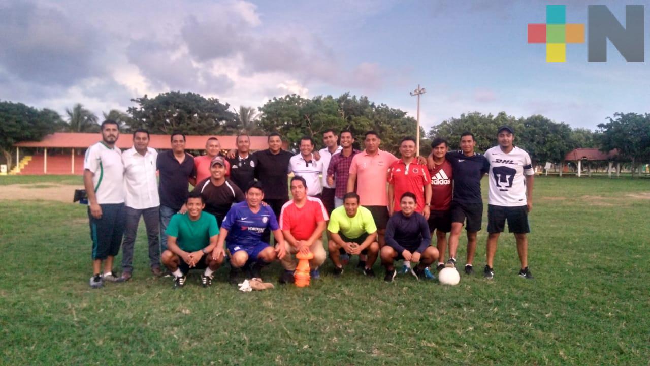 Colegio de Árbitros impartió curso-taller en Coatzacoalcos