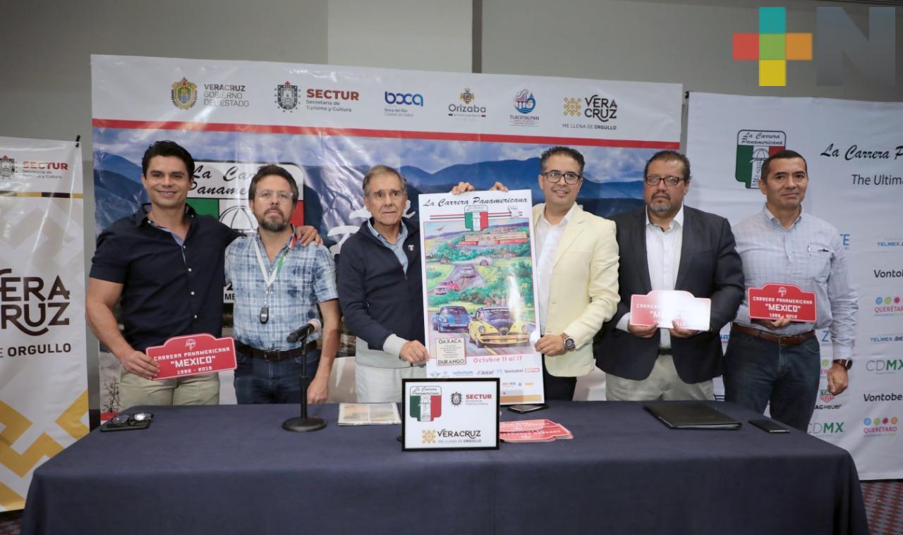 Anuncia SECTUR la edición 32 de la Carrera Panamericana
