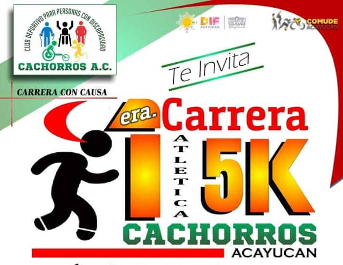 Este domingo, la Carrera Atlética Cachorros Acayucan 5K