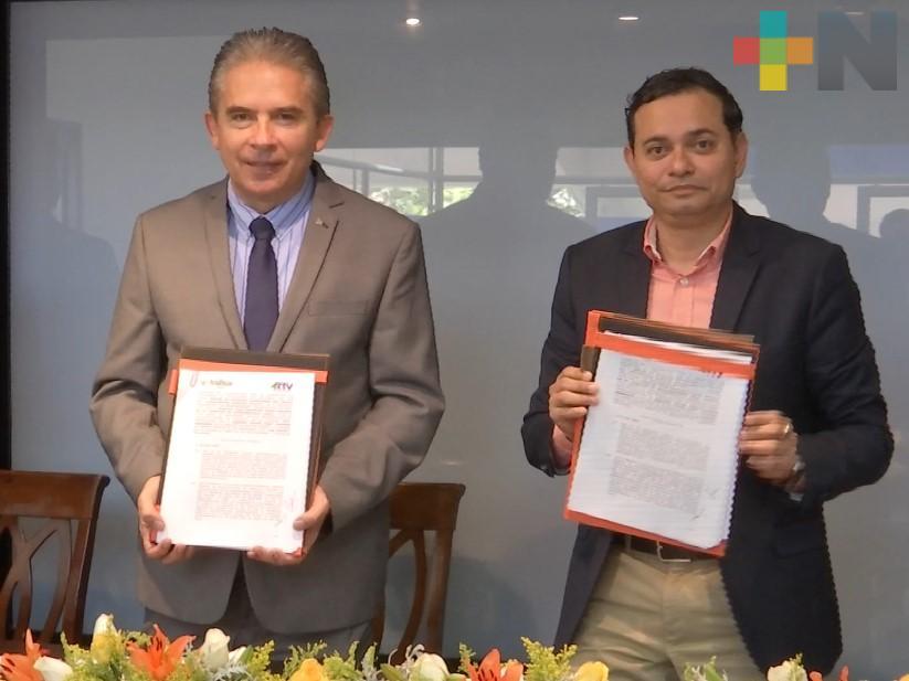 Universidad Anáhuac y Radiotelevisión de Veracruz firman convenio de colaboración