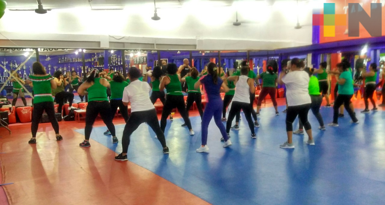 Certificaron a 16 instructores de fitness