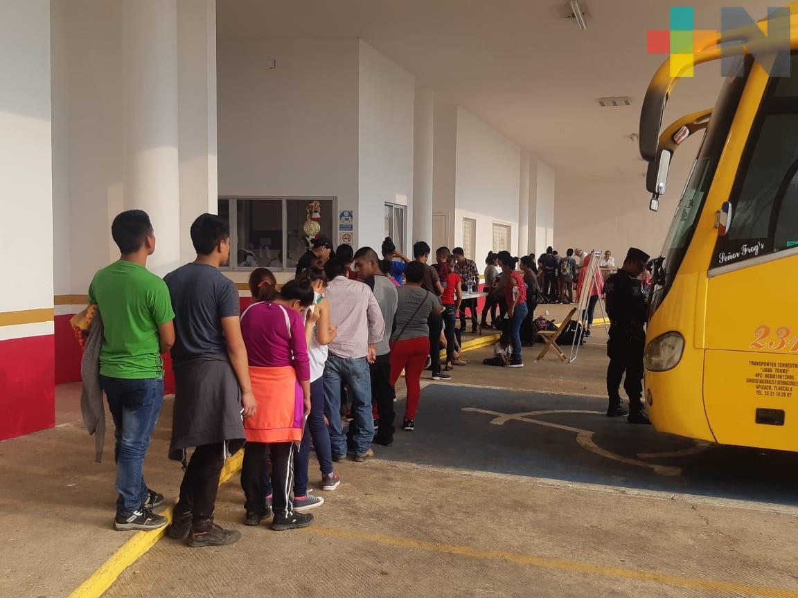 Rescatan SSP y Guardia Nacional a 195 migrantes; diez detenidos