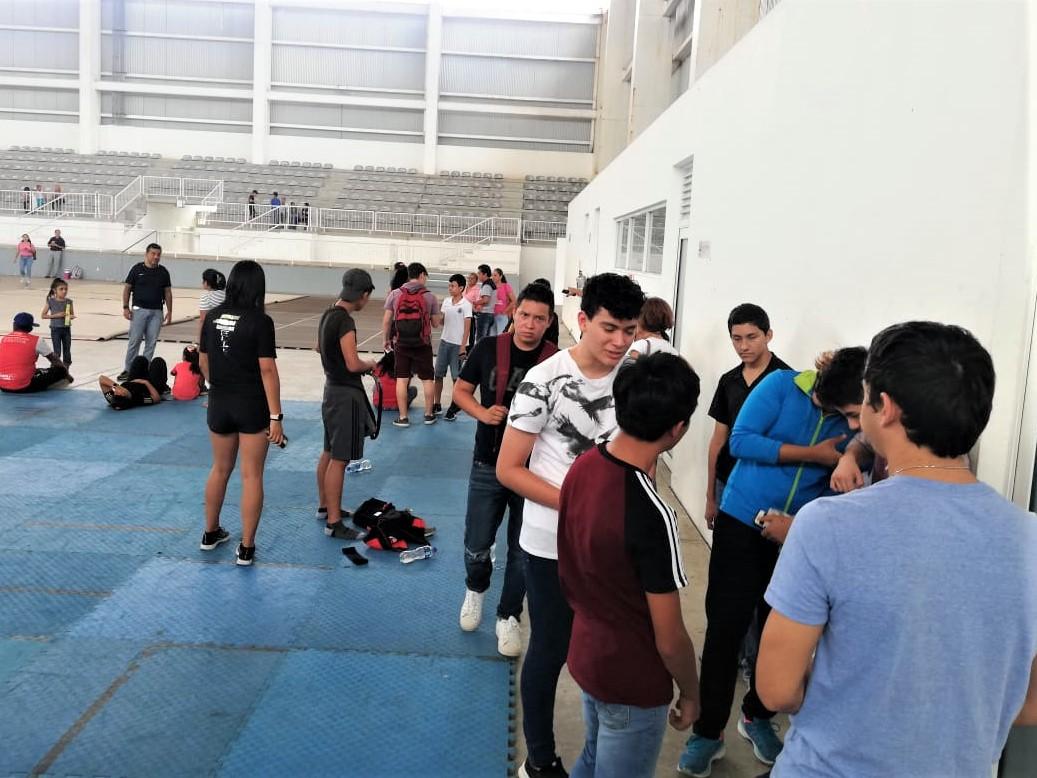 Listo preselectivo Estatal de Taekwondo en Arena Veracruz
