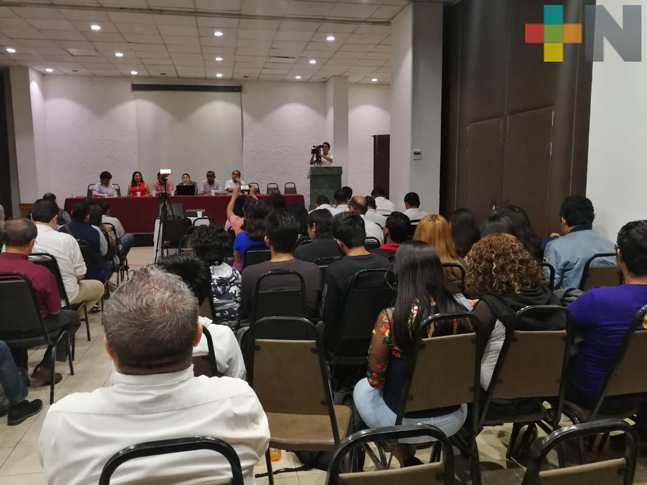 Inicio el simposio de periodismo de la Asociación de Periodistas de Coatzacoalcos