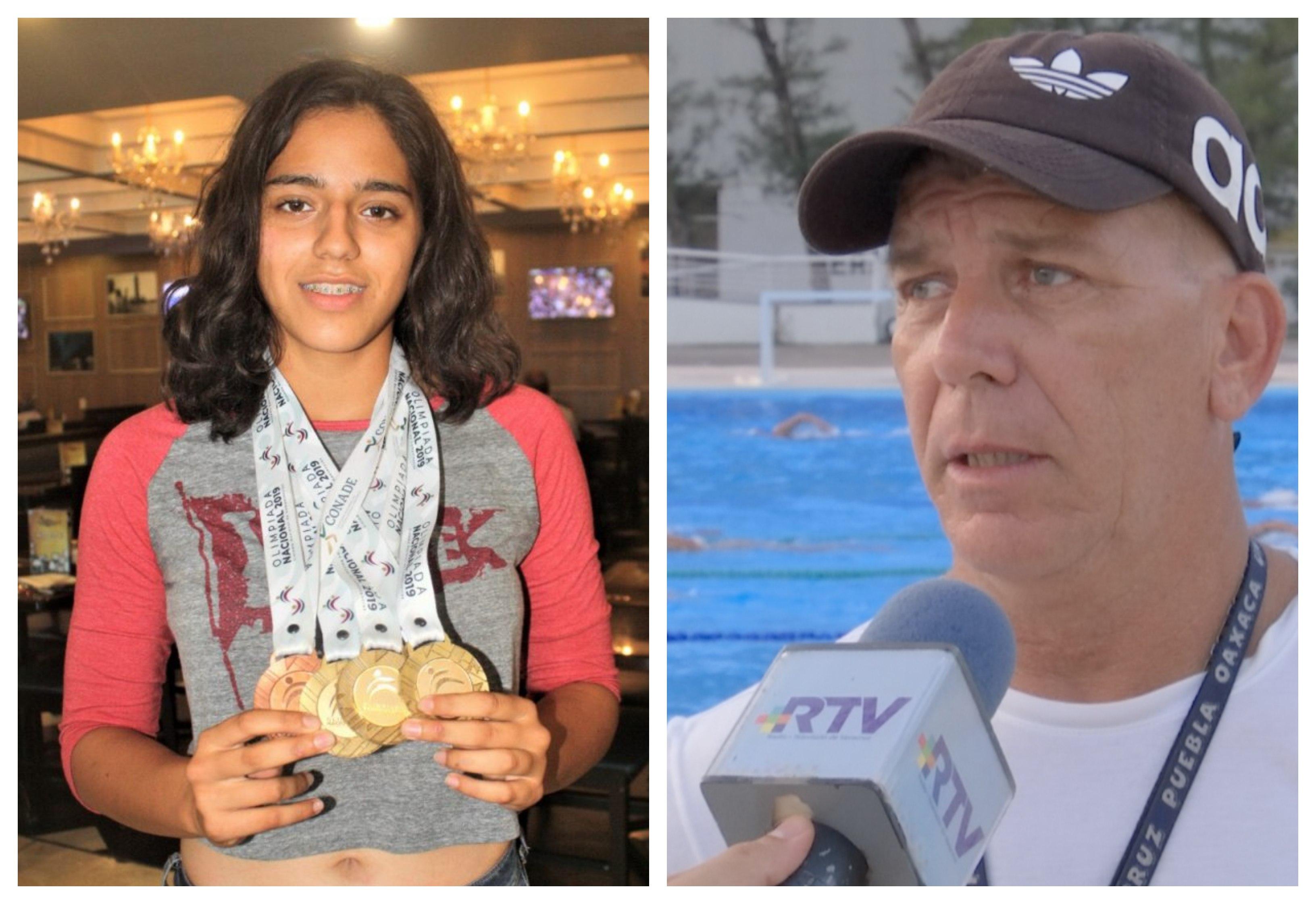 Proyectan a la nadadora Susana Hernández rumbo a París 2024