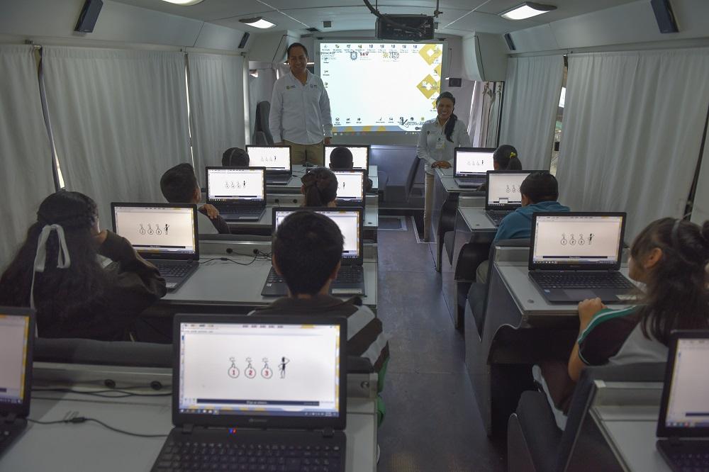 Con el Programa Vasconcelos se reduce la brecha digital