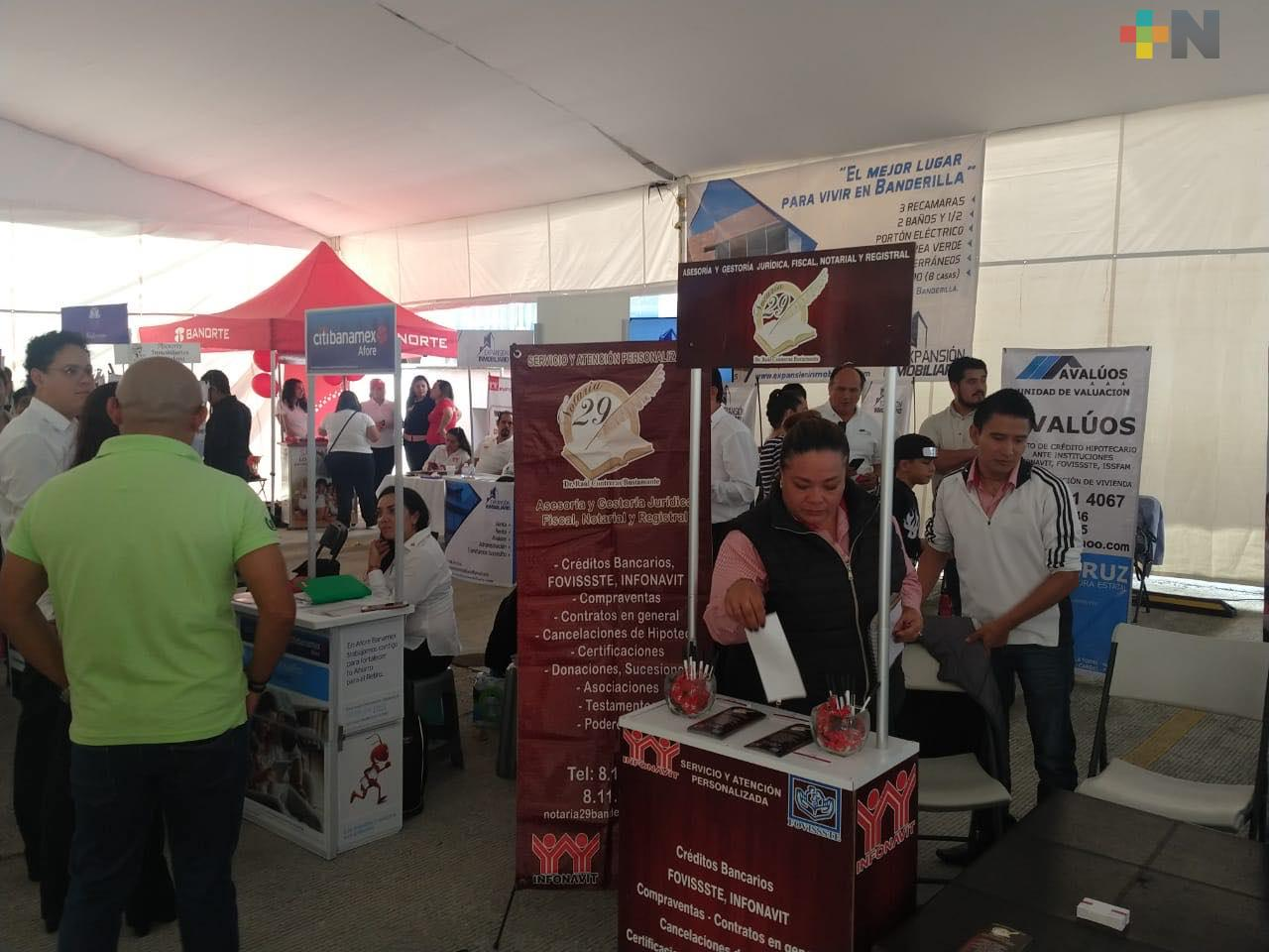 Infonavit realiza Expo Vivienda 2019