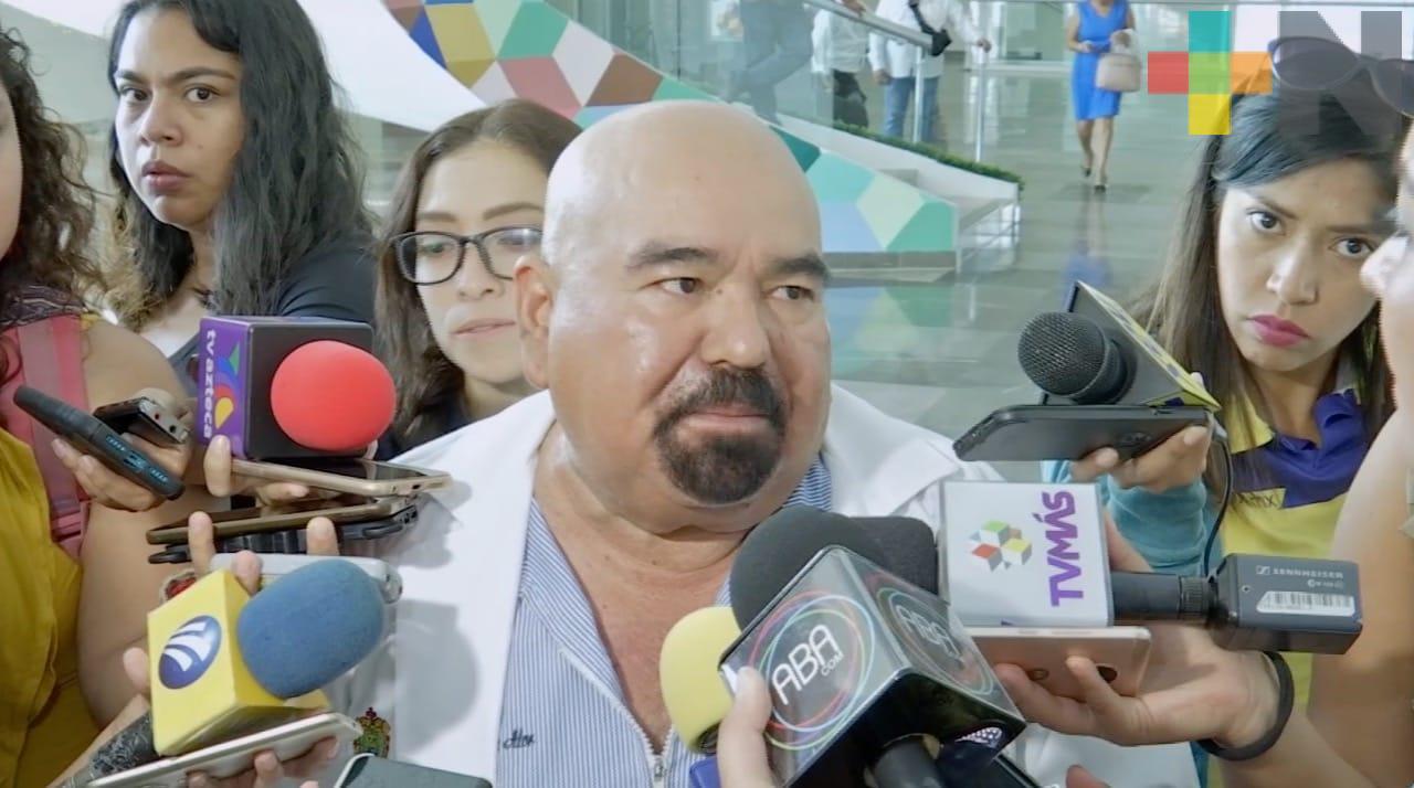 Garantizado tratamiento para niños con cáncer del Hospital Infantil de Veracruz: Roberto Ramos