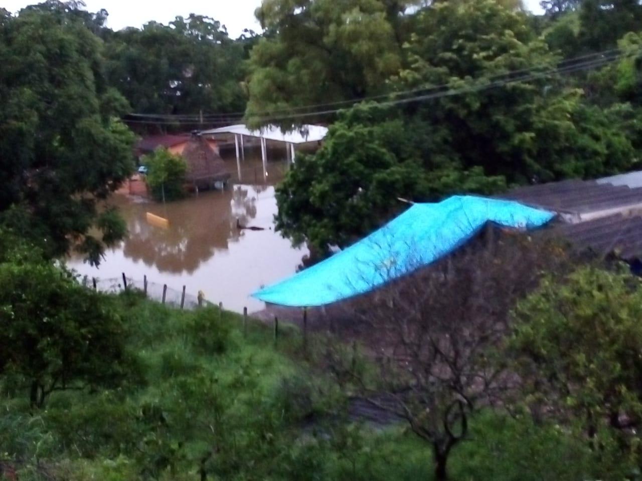 Aumenta el número de comunidades afectadas por las últimas lluvias; no hay personas lesionadas
