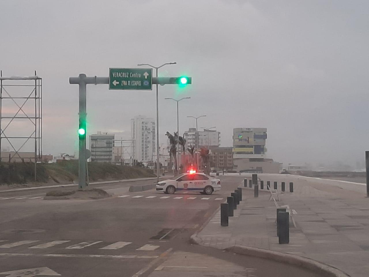Reporta Protección Civil que Norte se intensificará en Veracruz