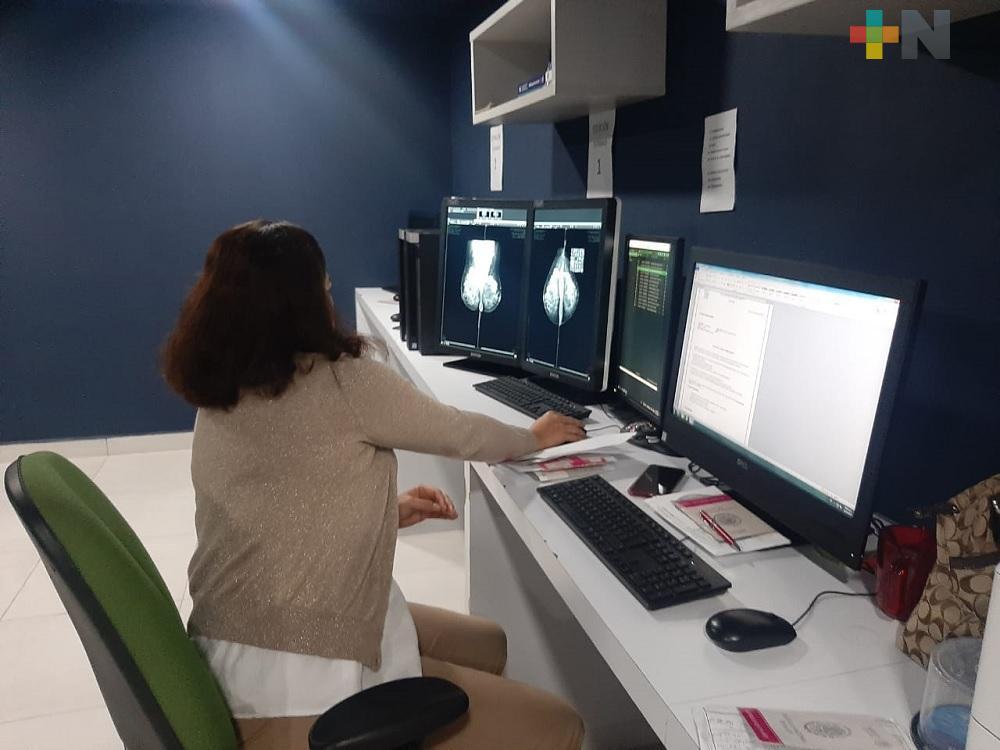 A nivel nacional, IMSS ha diagnosticado más de dos mil 600 mujeres con cáncer de mama, en este año