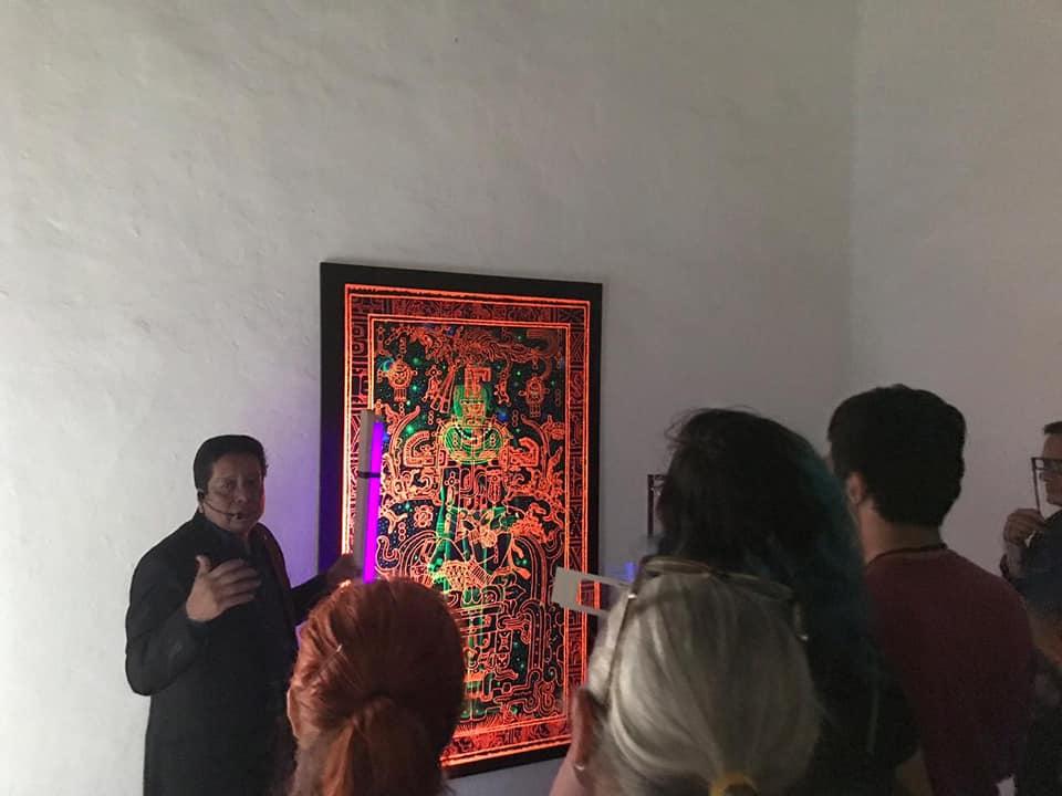 Arte Prehispánico en 3D de Bernardino Cerqueda en Centro Recreativo Xalapeño