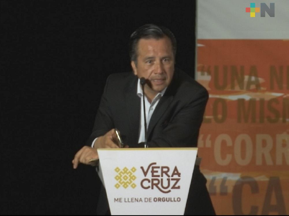 Inauguró el gobernador de Veracruz Jornada de Prevención y Detección de la Violencia contra Niñas y Adolescentes