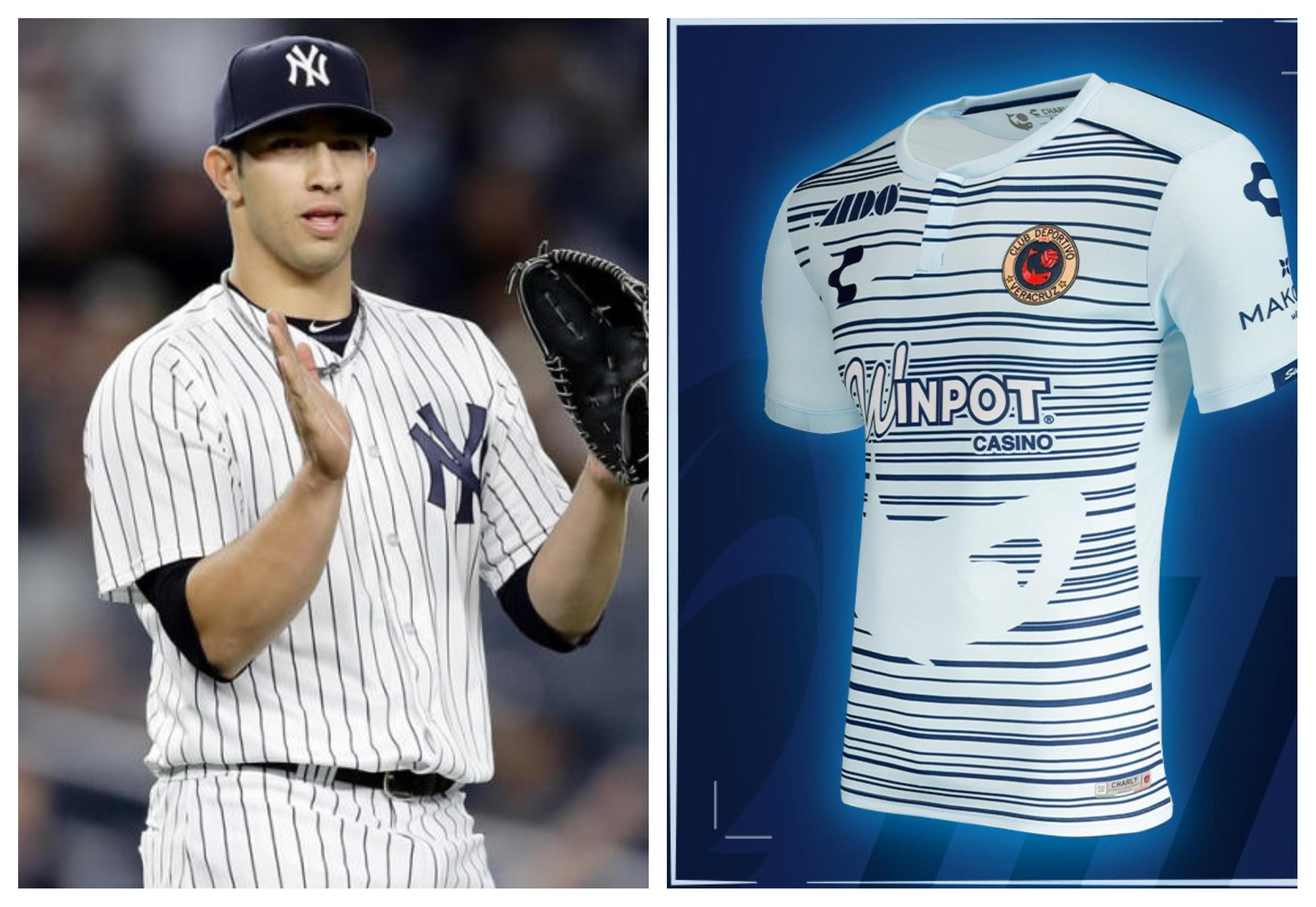 Luis Cesa encantado con el  nuevo jersey de Tiburones