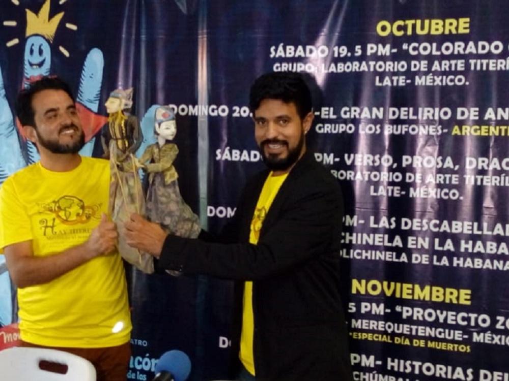 «Hay Títeres» tendrá la participación de compañías de Argentina, Cuba, Italia y Guatemala