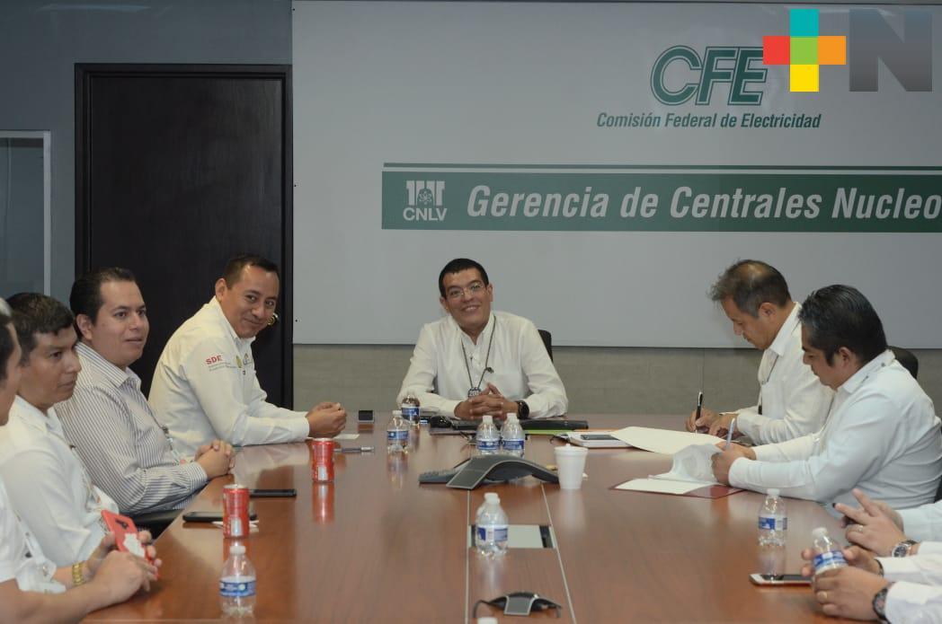 """Llevan SEV y CFE Programa """"Vasconcelos"""" a comunidades cercanas a Laguna Verde"""