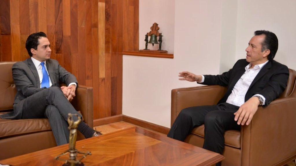 Participará Banobras en Veracruz en apoyo a proyectos de infraestructura: gobernador Cuitláhuac García