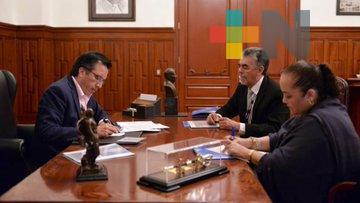 Recibe Veracruz cartografía del INEGI para censo 2020