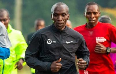 Eliud Kipchoge rompe el muro de las dos horas en maratón