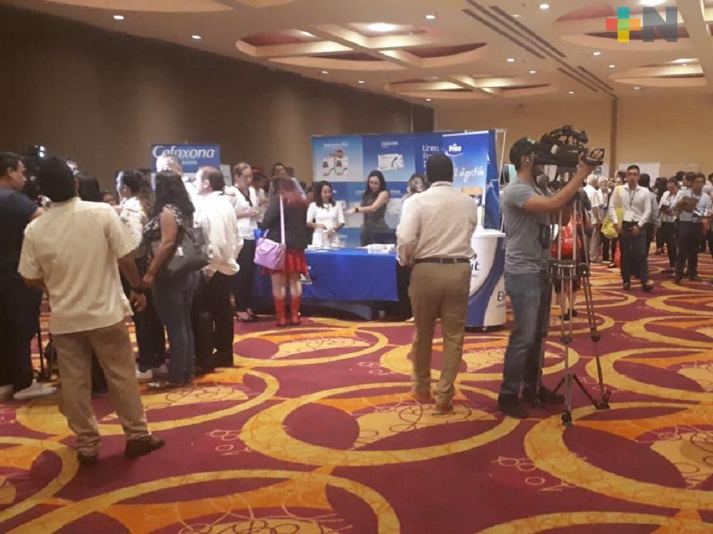 En Boca del Río inauguran Congreso Internacional de Pediatría