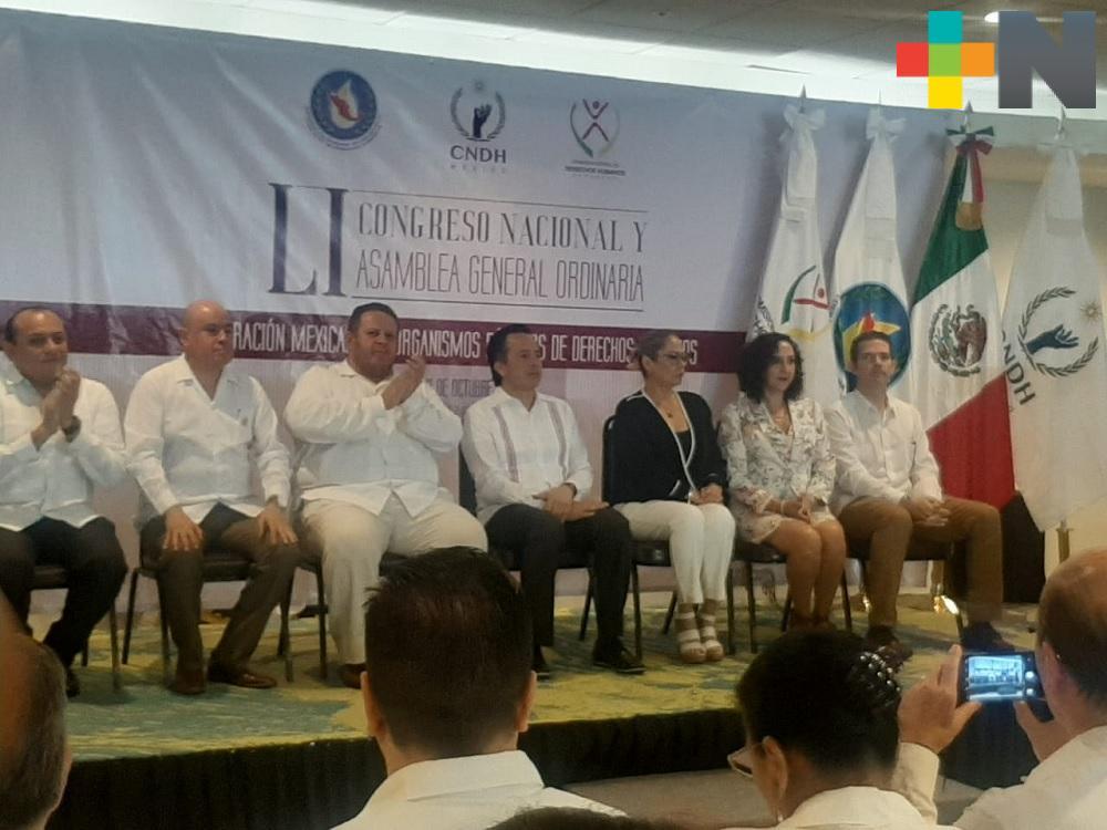Gobierno de Veracruz ofrecerá dos disculpas públicas por recomendación de la CEDH: Cuitláhuac García