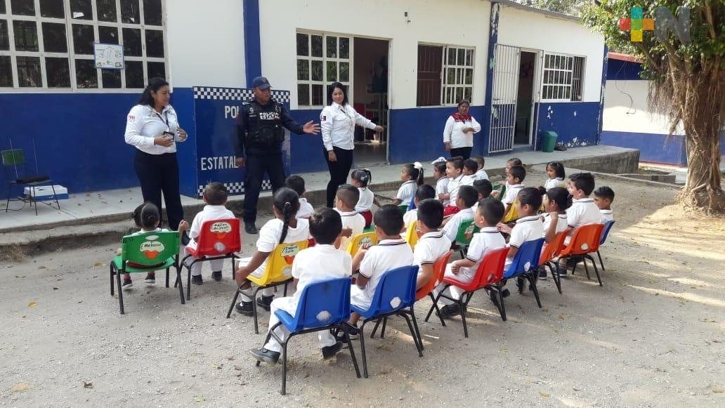 Integra SSP a dos mil 700 alumnos al programa Escuela Segura