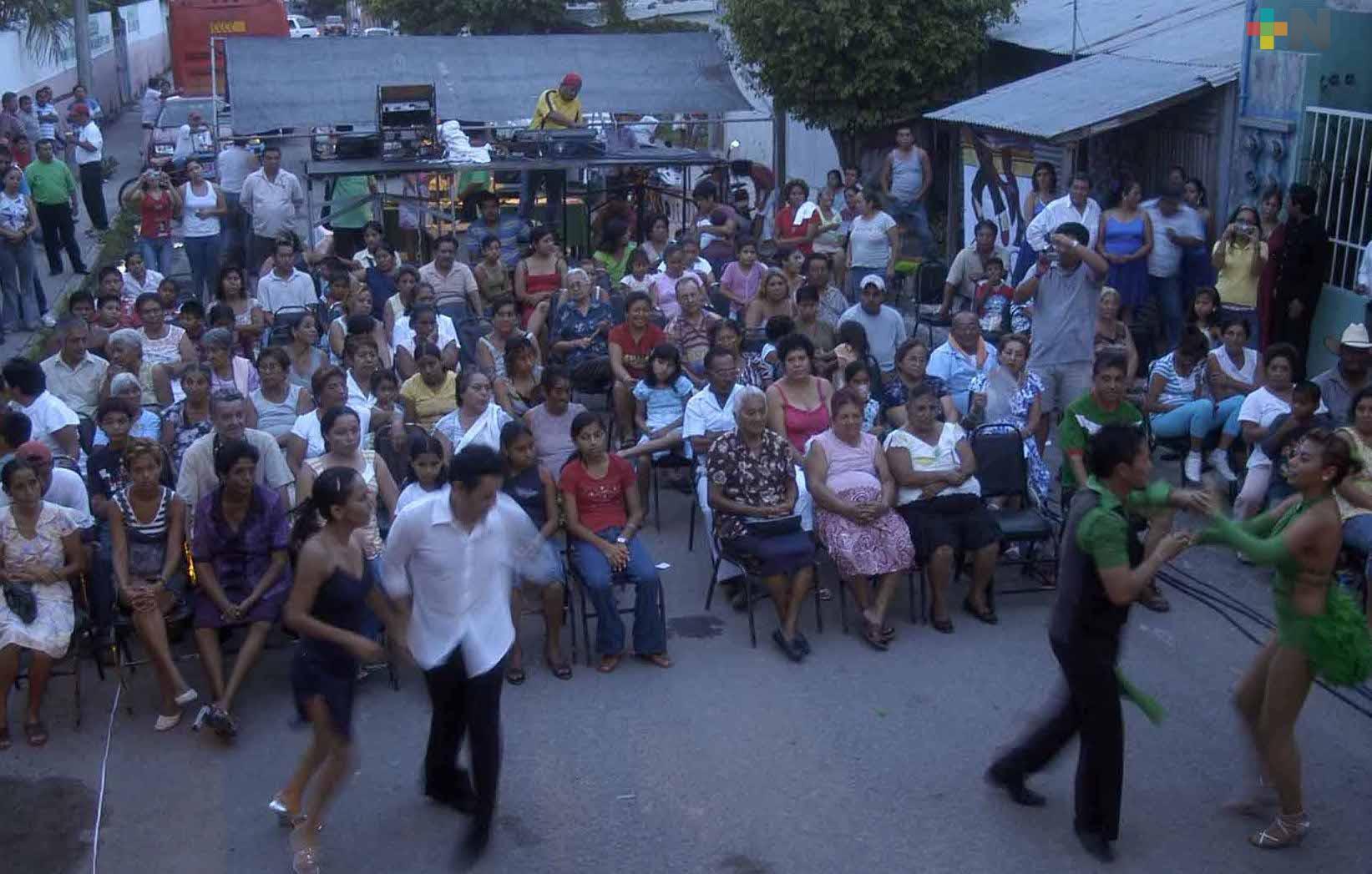Afrocaribeño en los Barrios y Bailes Populares