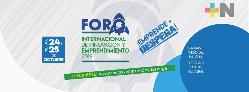 Cerca de mil jóvenes participarán en el Foro Internacional de Innovación y Emprendimiento 2019