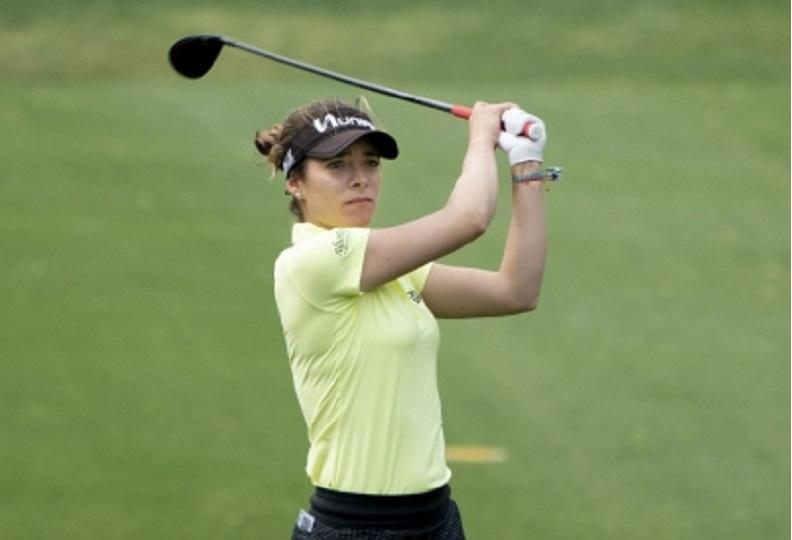 Golfista mexicana Gaby López ya es número 19 en torneo de Corea