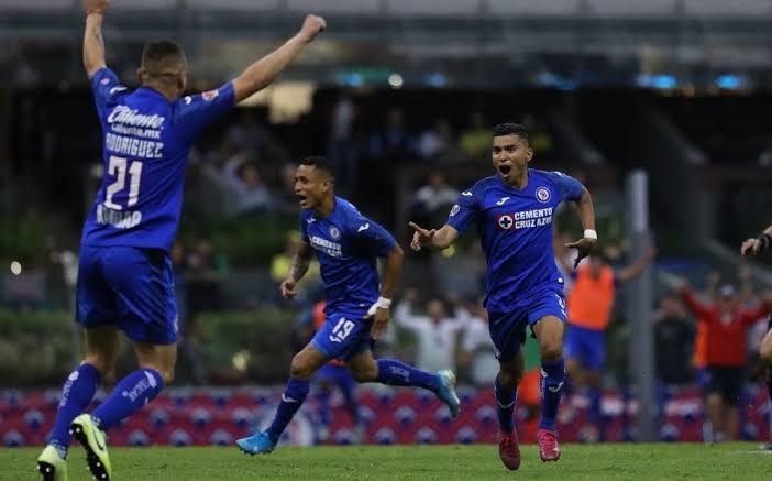 Cruz Azul se reencuentra con triunfo en goleada 5-2 al América