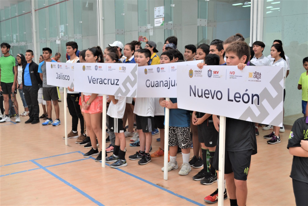 Inauguraron Campeonato Nacional de Squash 2019