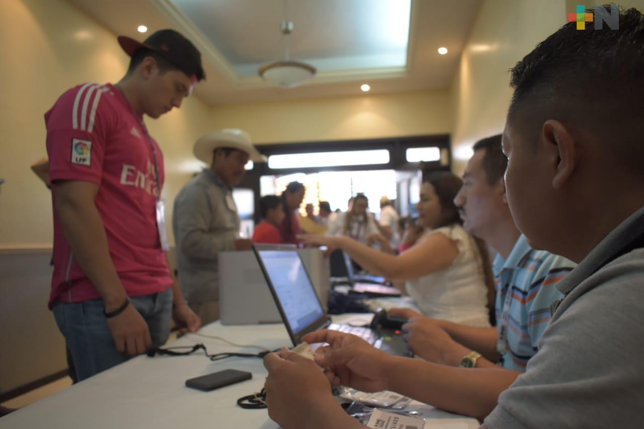 INE en Tantoyuca brinda legalidad a las asambleas distritales para la creación de nuevos partidos